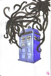 TARDIS at Midnight by crimsonkitsune