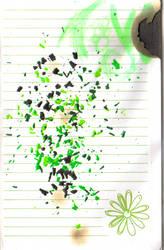 wax in green by crimsonkitsune