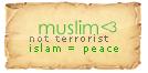 muslim not terrorist by HAROOOD