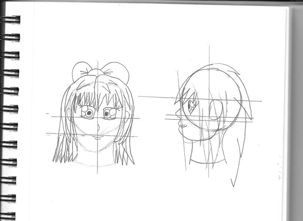 Sketches 1 WIP by MarioXMariana