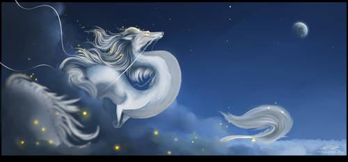 Midnight Fly by ThePaintedDogg