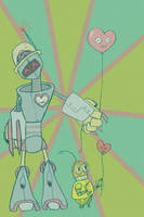 Robot With a Heart by Emily-Grainneog