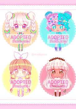 REDUCED PRICE Sweet Adoptables - CLOSED