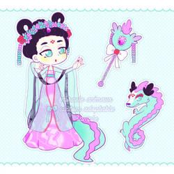 Custom Legendary Miracle Animaux - Chinese Dragon by maridopt