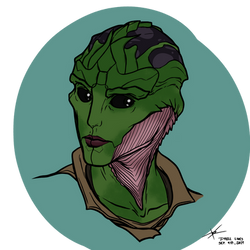 possible drell character(?)