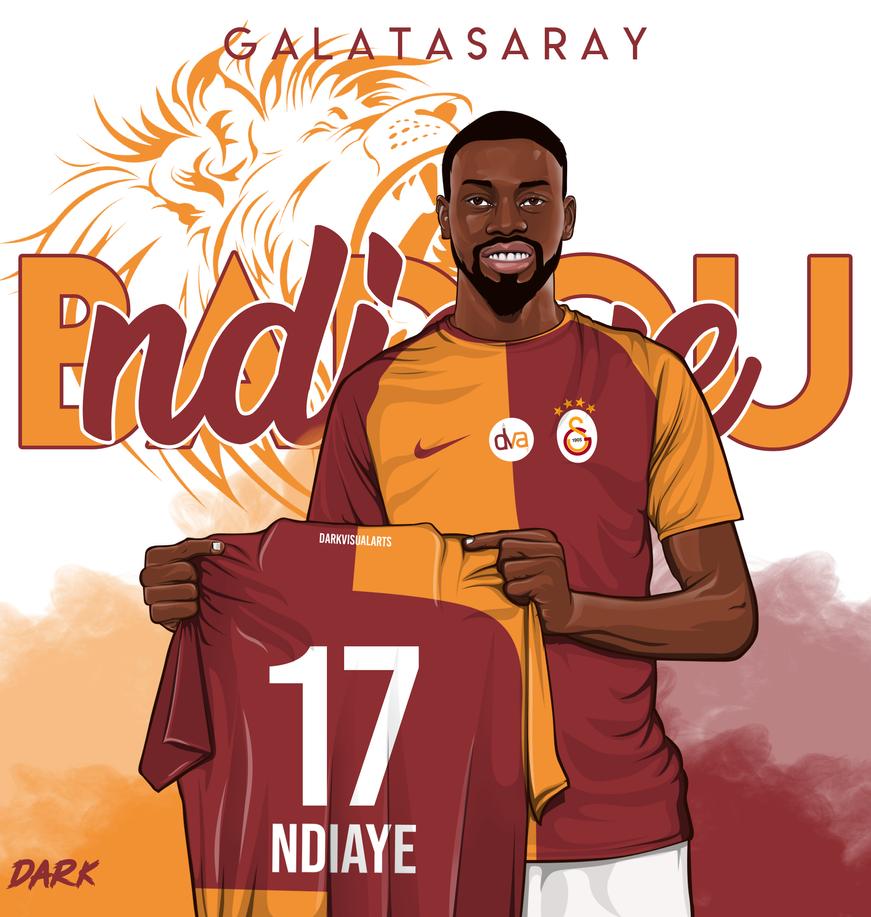 Ndiaye vector by darkvisualarts17