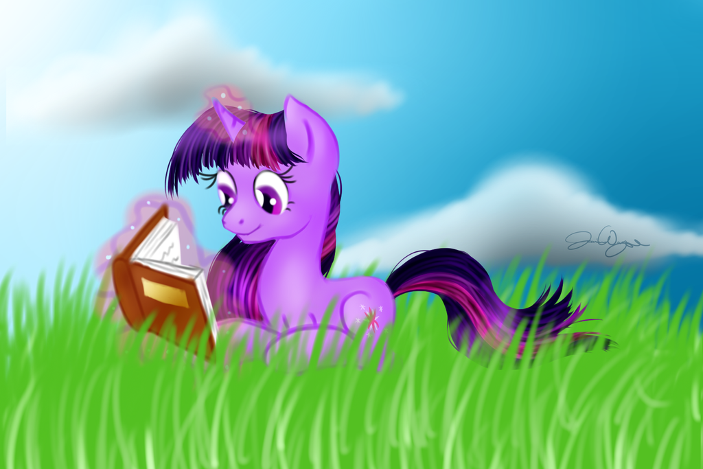 Read a Book! by Violyre
