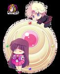 Png's -Rei Hino y Jadeite