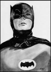 Batman - Adam West by foxartsbrazil
