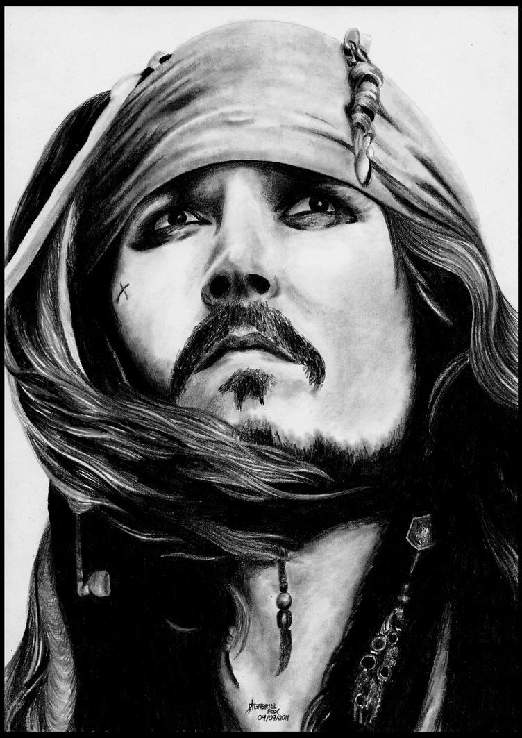 Jack Sparrow by foxartsbrazil