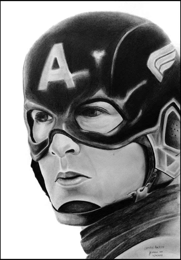 Captain America - The First Avenger by foxartsbrazil