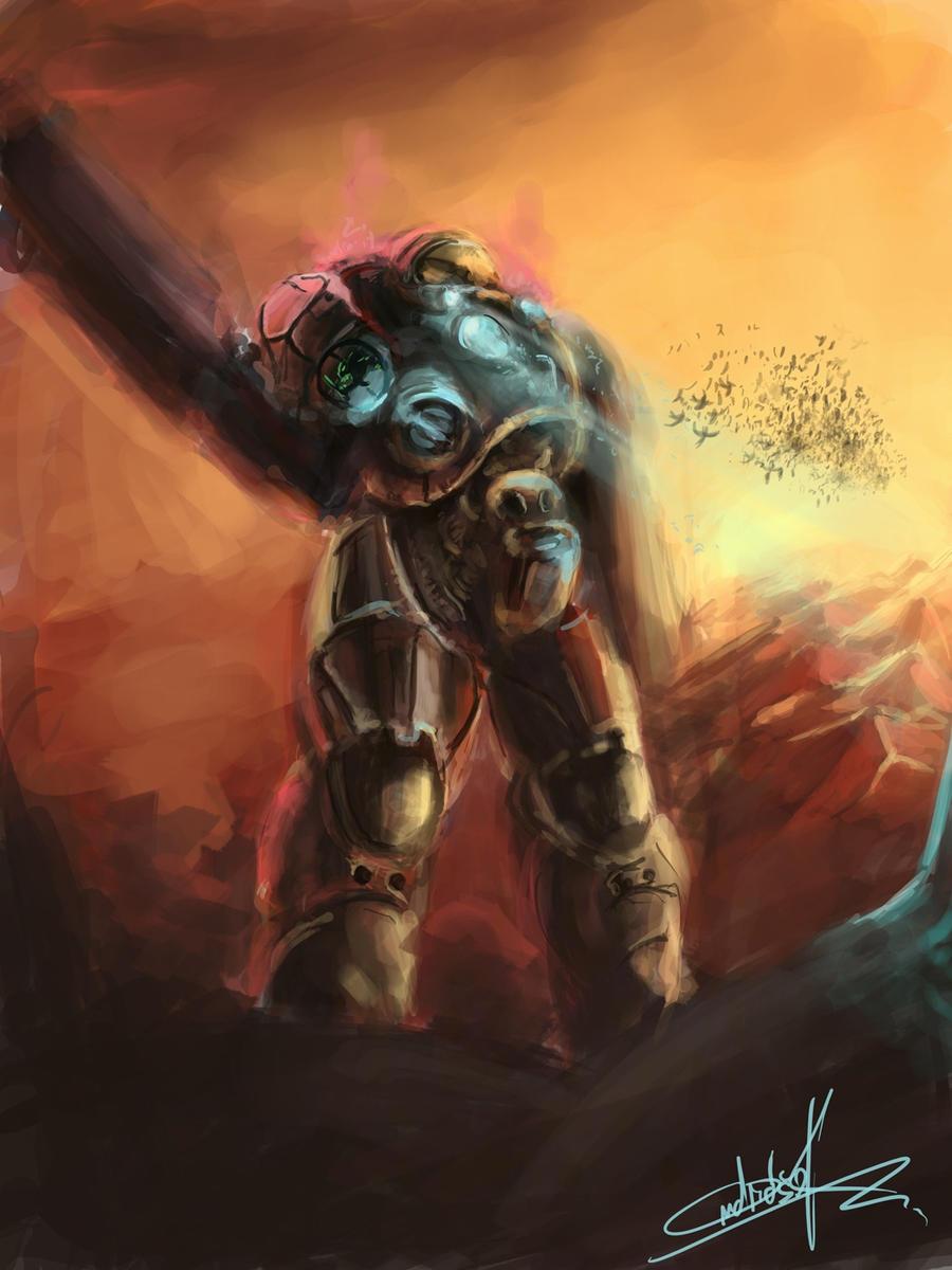 starcraft space marine artwork - photo #16