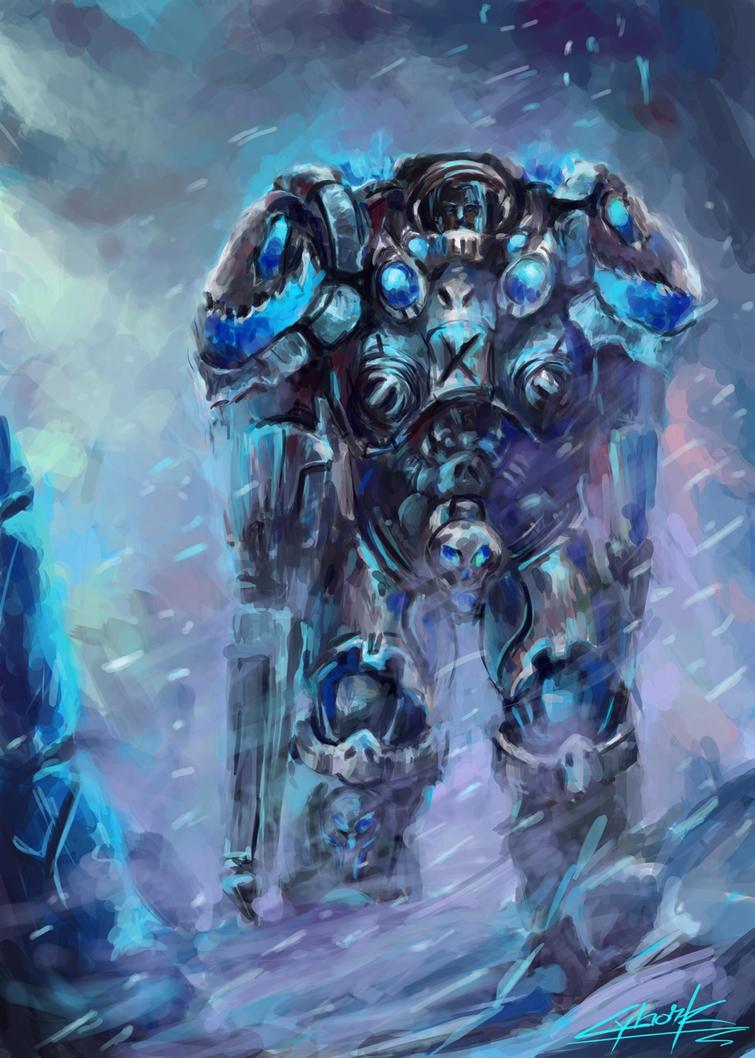 starcraft space marine artwork - photo #17