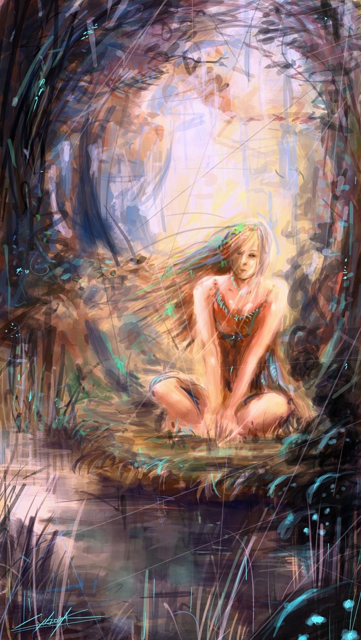 fantasy girl by VitoSs