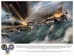World War 2: B24 Little Lulu 'Thad's Last Victory' by VitoSs