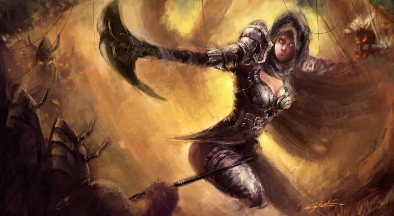 Diablo 3 Demon Hunter By Vitoss On Deviantart