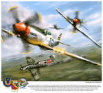 World War 2: P 51D Thisizit 'Checkertails'