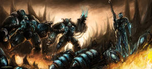 starcraft 2 marauders and ghost