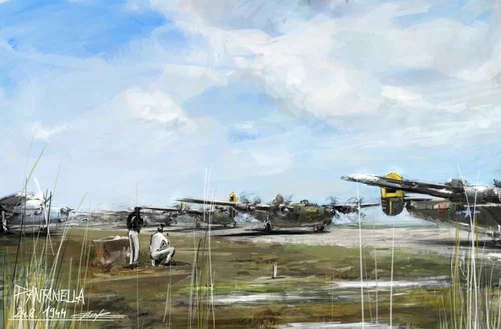 world war 2: Pantanella by VitoSs
