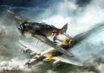 world war 2: FW-190 Rauhbautz VII