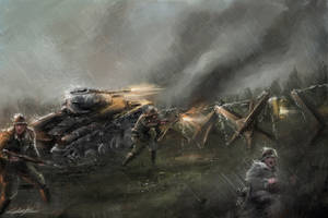 1938 borderlines under fire - Armored Troops by VitoSs