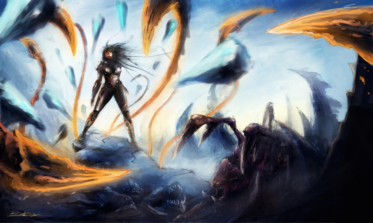 starcraft 2:heart of the swarm zerg's resurrection by VitoSs