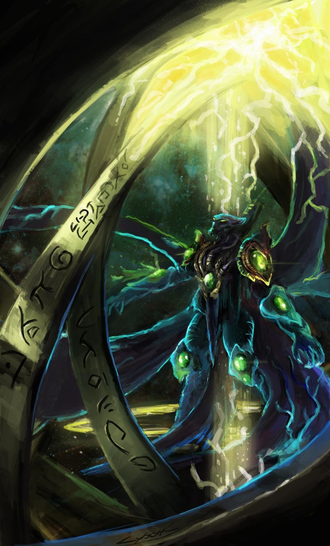 starcraft 2 dark templar by VitoSs