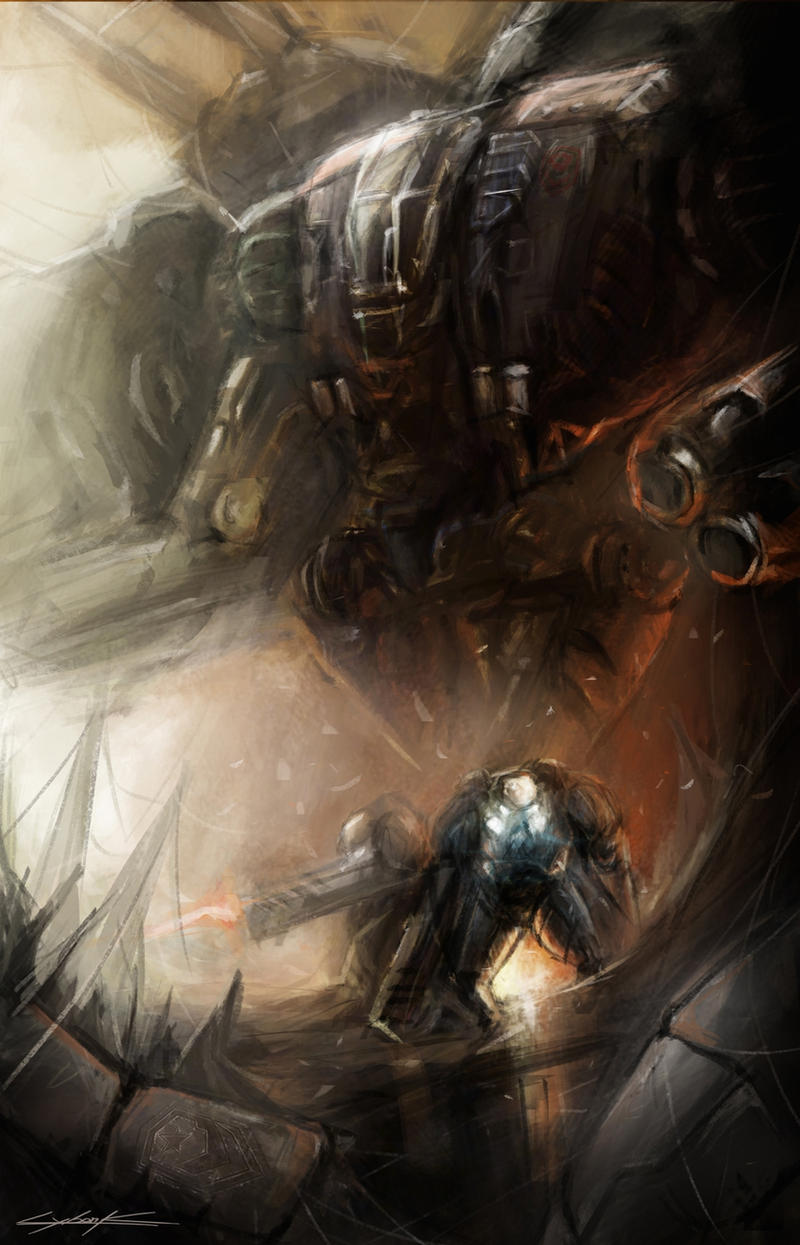 starcraft 2 : terran forces by VitoSs