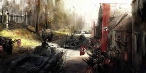1938 borderlines under fire -Welcoming the Germans