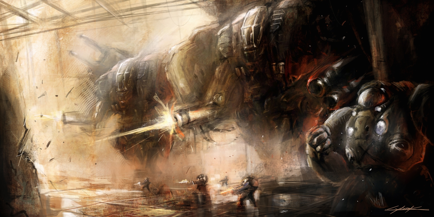starcraft 2 : terran army by VitoSs