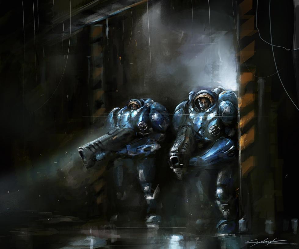 starcraft 2 : exploration by VitoSs