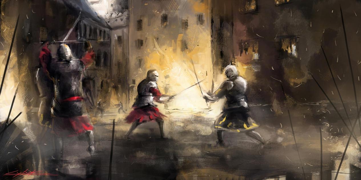 #001 - Prólogo Medieval_battle_by_vitoss-d6fz3kg