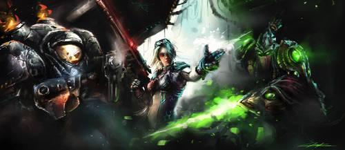 Starcraft 2 Heroes by VitoSs