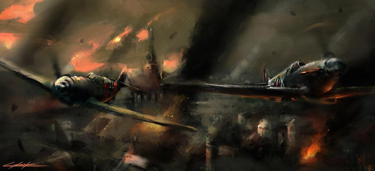 world war 2 by VitoSs