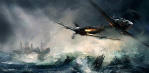 world war 2 spitfire vs messerschmitt