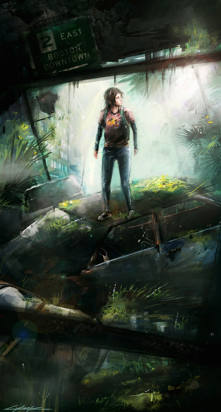 The last of us: Ellie by VitoSs
