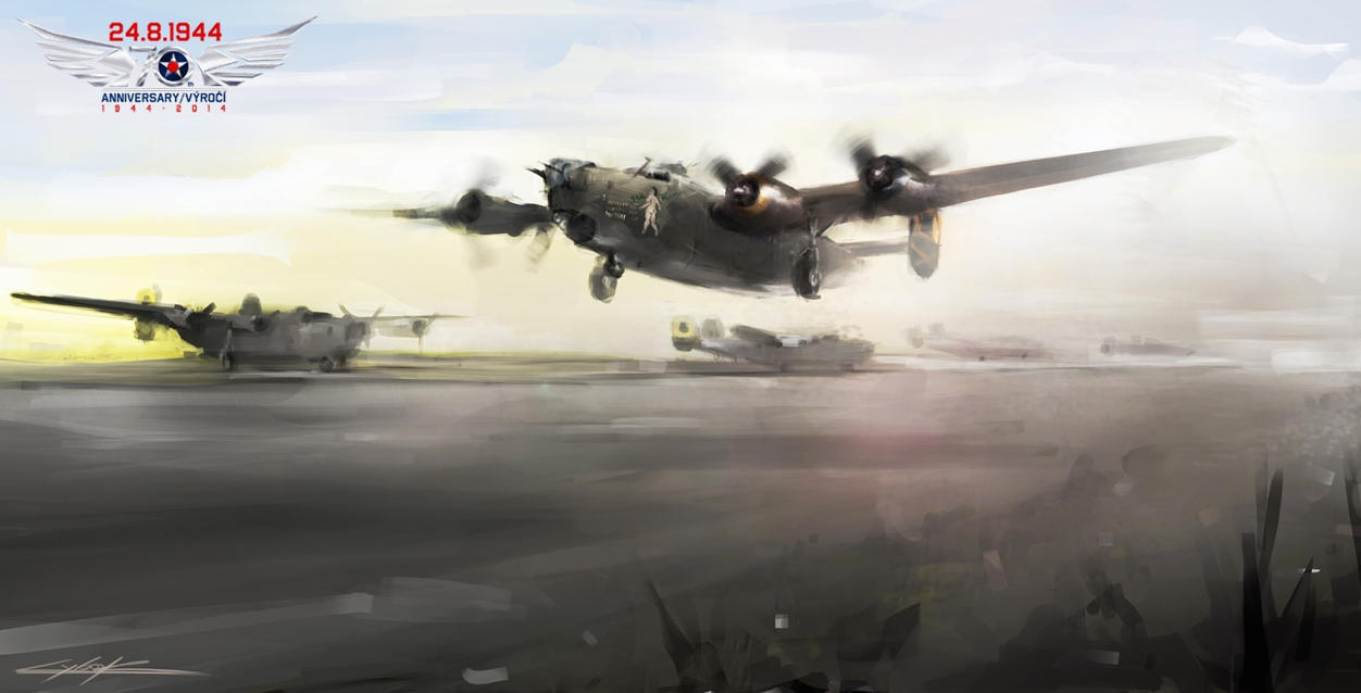 B-24 Tail heavy - start by VitoSs
