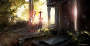 cemetery by VitoSs