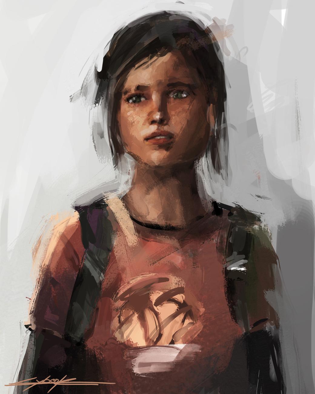 The Last Of Us Ellie By Vitoss On Deviantart