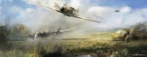 We were in battle of Britain S/Ldr. Alexander Hess