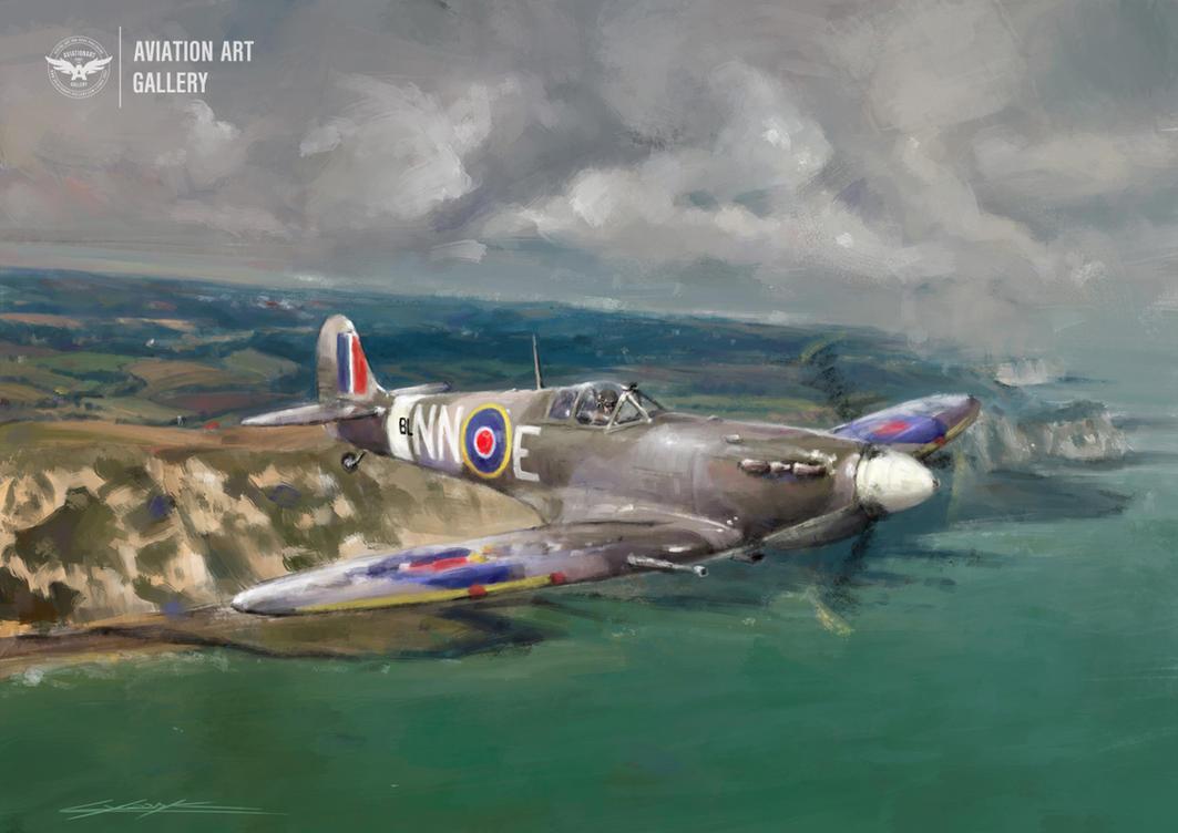 Frantisek Trejtnar's Spitfire by VitoSs
