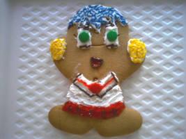 Gingerbread Schoolgirl by DV-n-tart