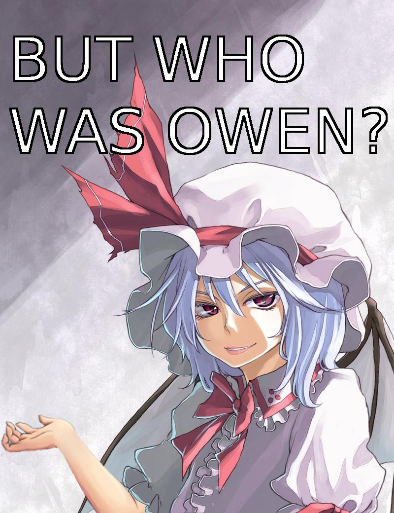 But Who Was Owen? by DV-n-tart