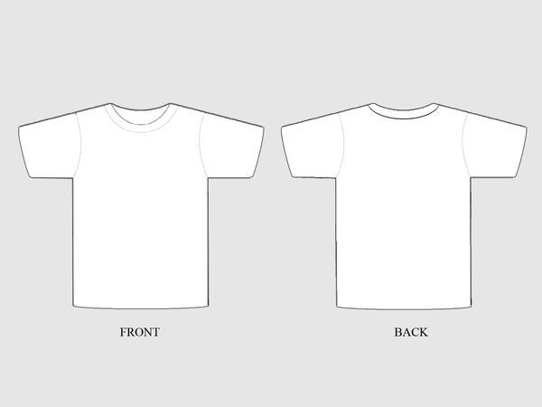 Customizable T-shirt Template