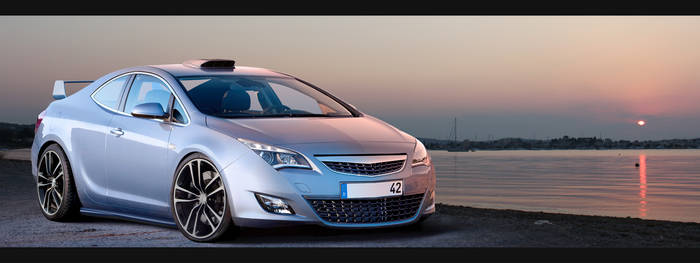 Opel Astra Coupe concept