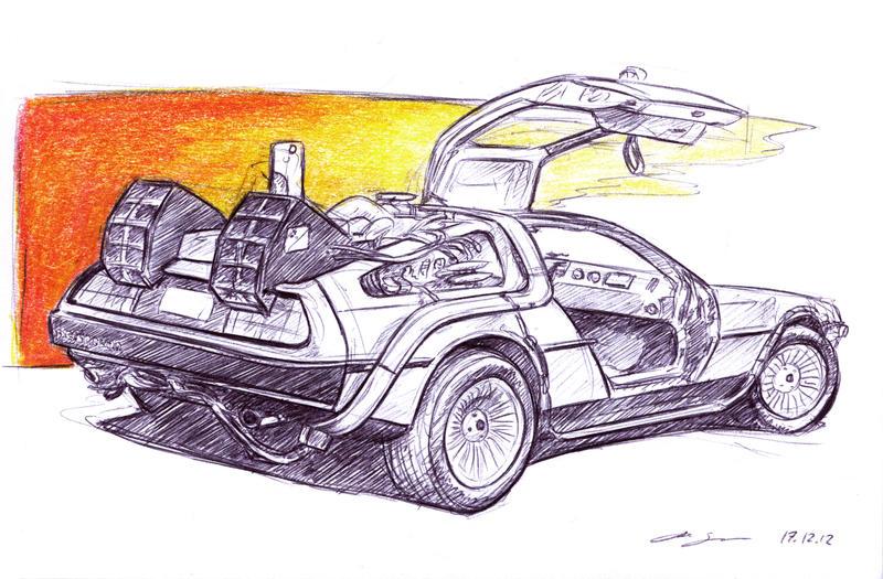 DeLorean by grote-design