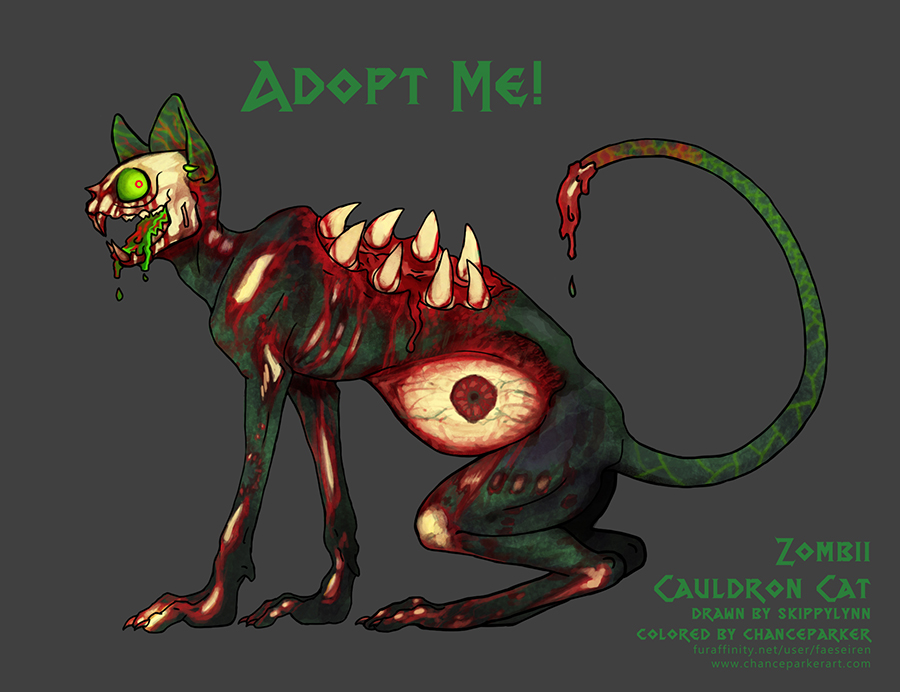 AUCTION OPEN - ZOMBII by Wolf-Daemon