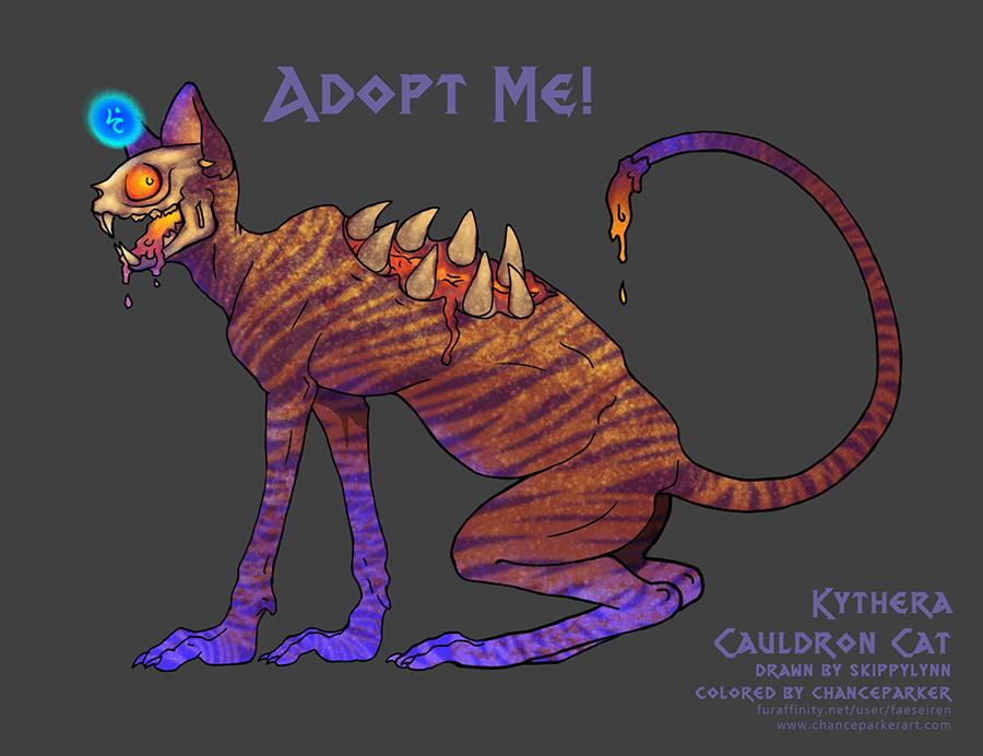 CAULDRON CAT - KYTHERA by Wolf-Daemon
