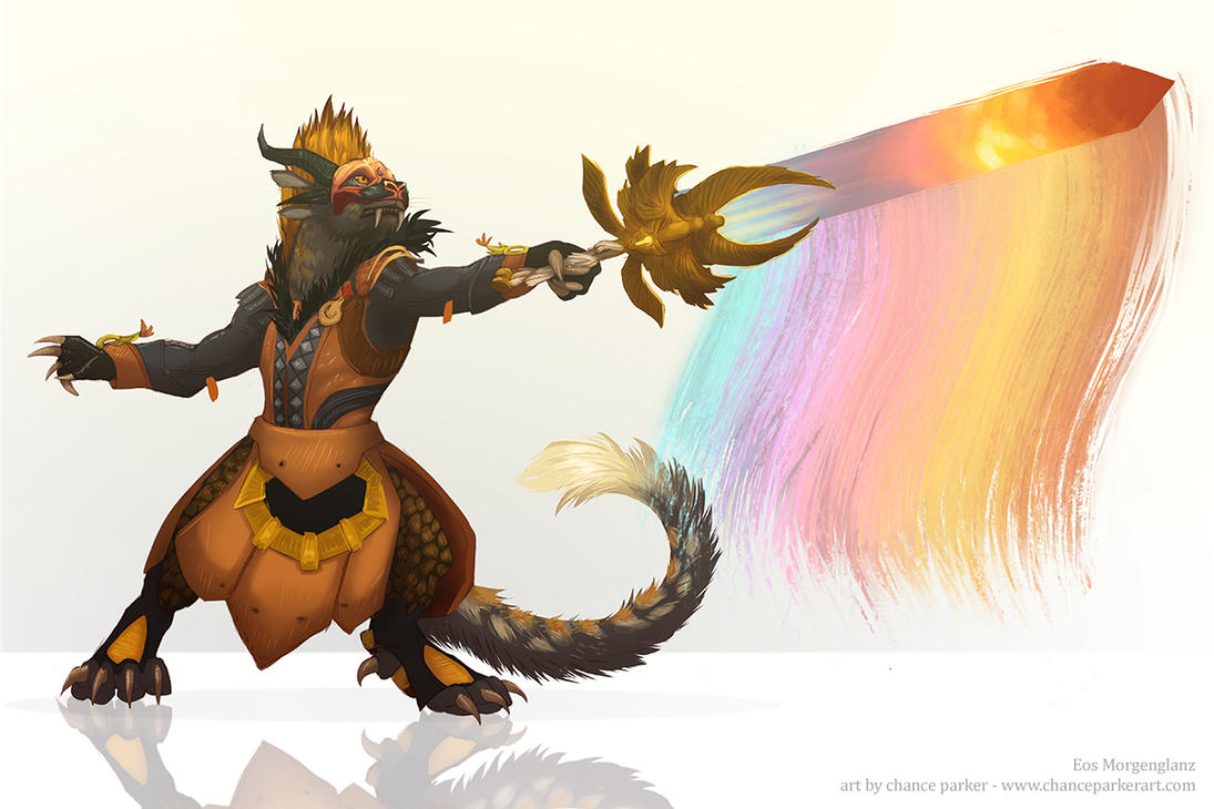 GW2 Commission - Eos Morgenglanz by Wolf-Daemon