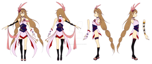 Reina Turnaround Character Sheet